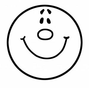 schwarzes Smiley by Thommy Weiss, pixelio.de
